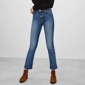 Aritzia The Castings High Rise Cropped Flare 26